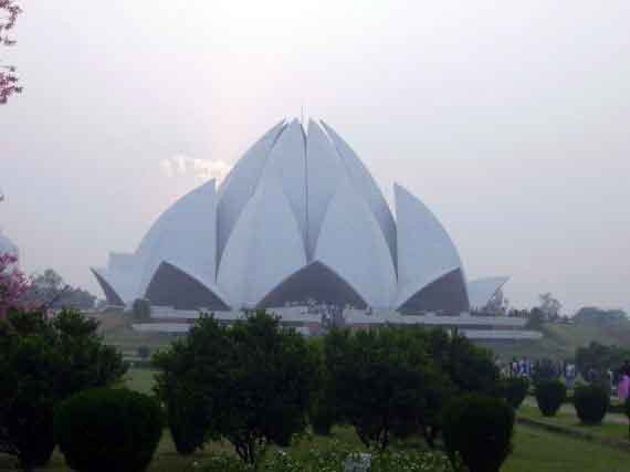 Indien 2007 Bahai Lotus Tempel