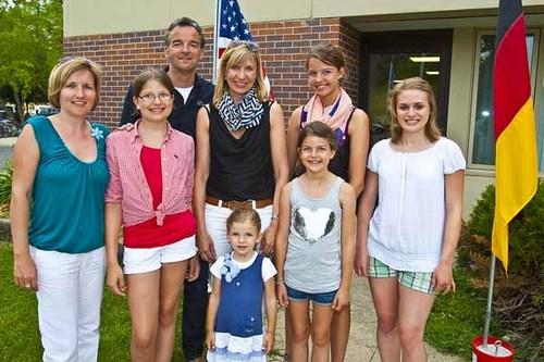 Familie Meiser zu Besuch