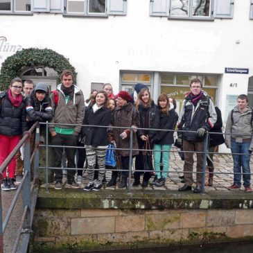 LMG-Schüleraustausch mit Pamiers in Crailsheim 2013