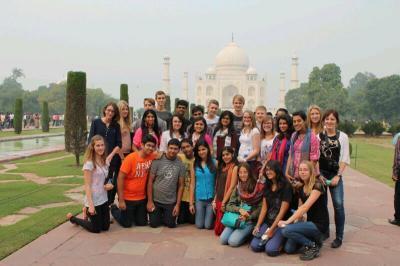 LMG Schüler nach Indien aufgebrochen