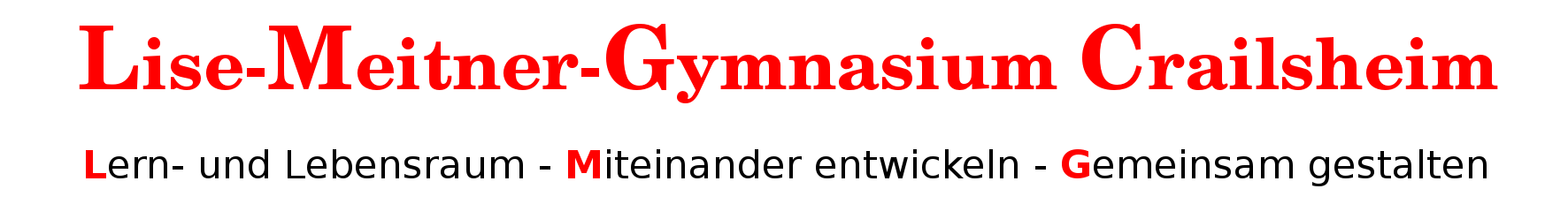 Homepage des Lise-Meitner Gymnasiums Crailsheim
