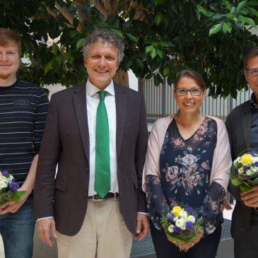 Beförderungen am Lise-Meitner-Gymnasium