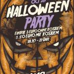 Einladung zur Halloweenparty 2016