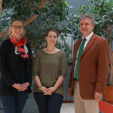 Zwei neue Kolleginnen am Lise-Meitner-Gymnasium