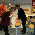 """Retten macht Schule"" am Lise-Meitner-Gymnasium"