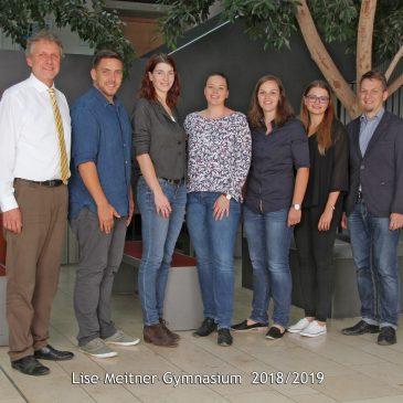 Junges Quintett verstärkt das Kollegium am LMG