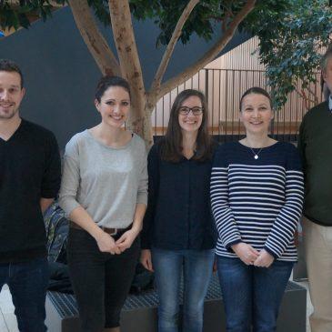 Neue Kollegen am Lise-Meitner-Gymnasium begrüßt