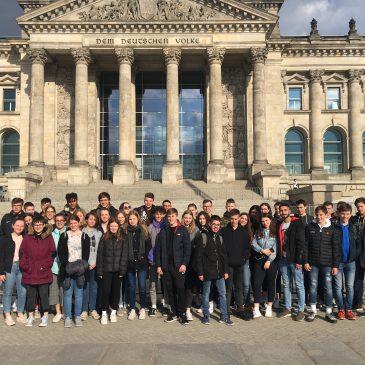 Erste Eindrücke der Berlinfahrt 2019