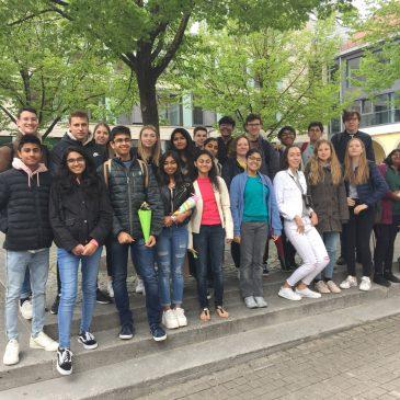 Indienaustausch: Ankunft in Crailsheim und Exkursion nach Weimar