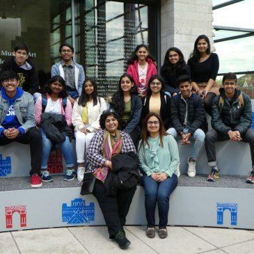 Gäste aus Indien am Lise-Meitner-Gymnasium